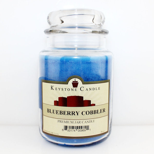 Keystone Candle Company Jar 655 g Blueberry Cobbler