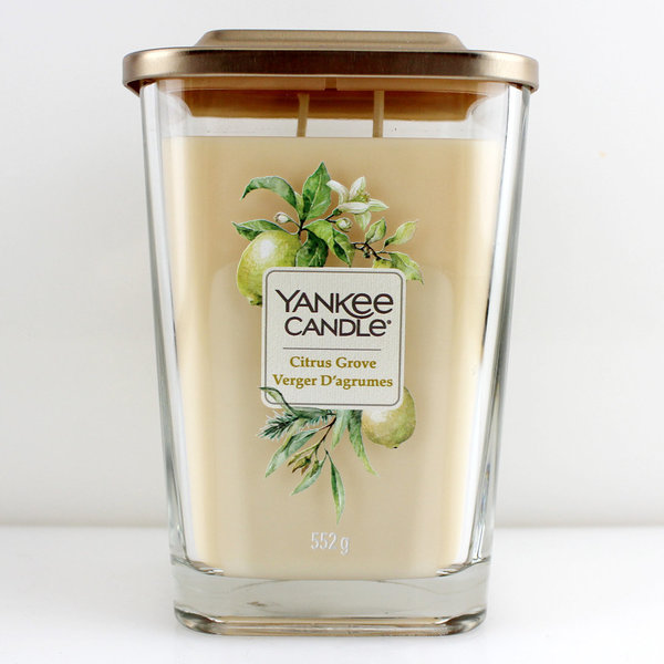 Yankee Candle Elevation Collection Quadratkerze 552 g Citrus Grove