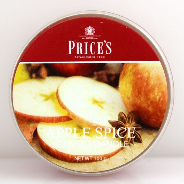 Price`s Patent Candles Limited Tin 100 g Apple Spice