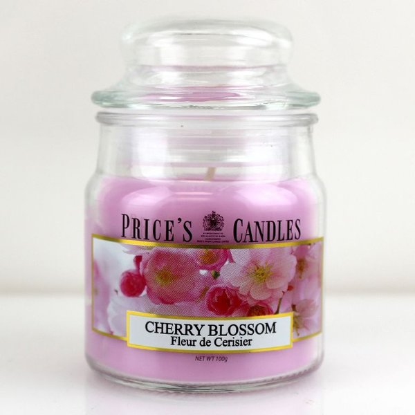 Price`s Patent Candles Limited Small Jar 100 g Cherry Blossom