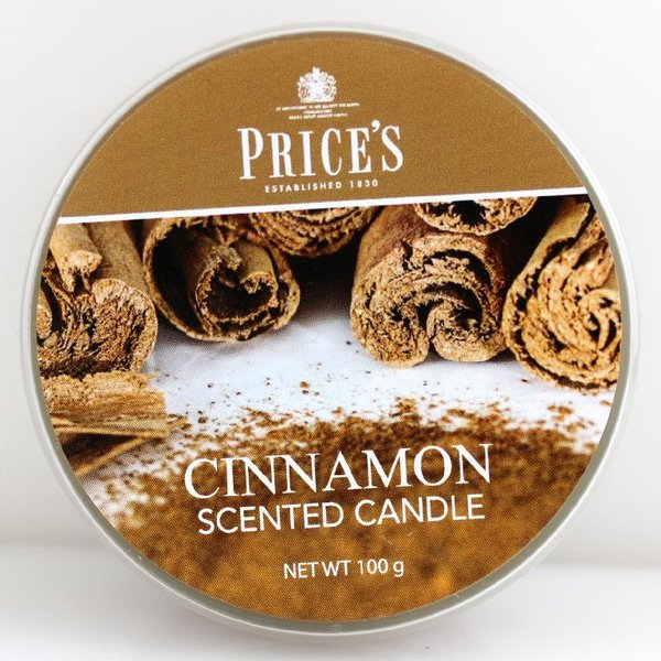 Price`s Patent Candles Limited Tin 100 g Cinnamon