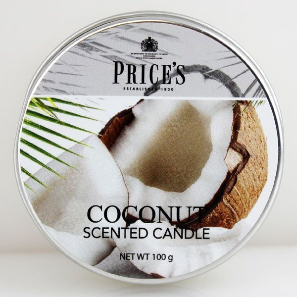Price`s Patent Candles Limited Tin 100 g Coconut