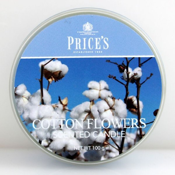 Price`s Patent Candles Limited Tin 100 g Cotton Flowers