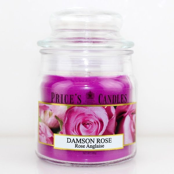 Price`s Patent Candles Limited Small Jar 100 g Damson Rose