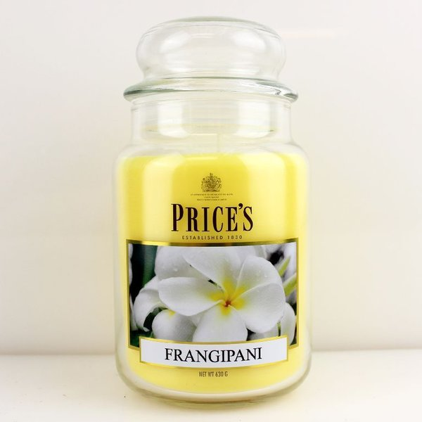 Price`s Patent Candles Limited Large Jar 630 g Frangipani