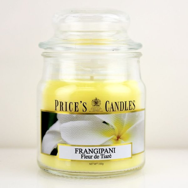 Price`s Patent Candles Limited Small Jar 100 g Frangipani