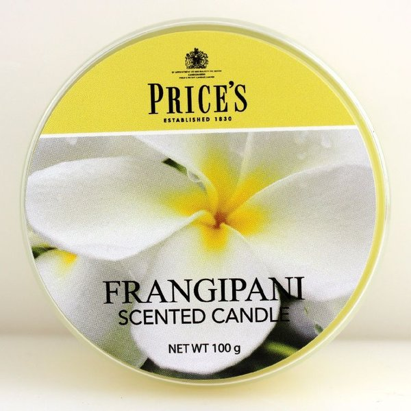 Price`s Patent Candles Limited Tin 100 g Frangipani