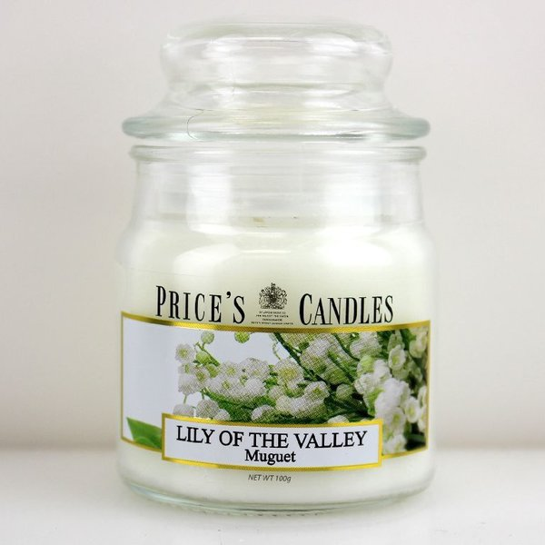 Price`s Patent Candles Limited Small Jar 100 g Lily of the Valley