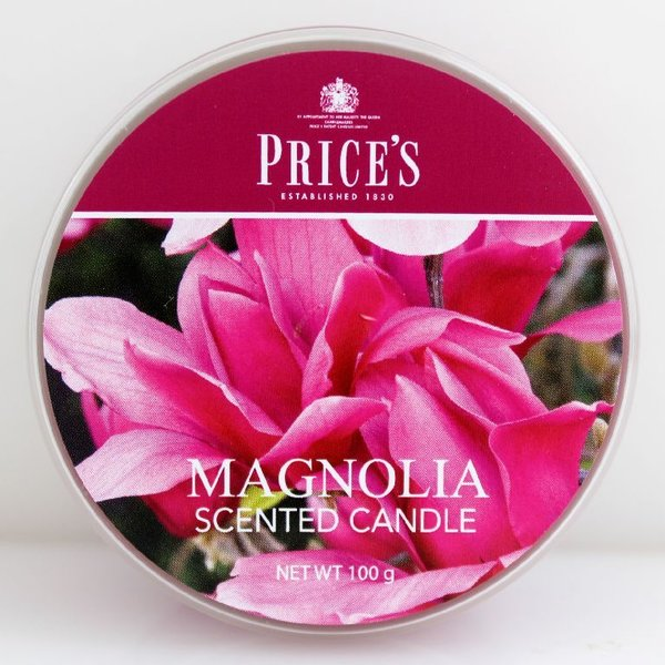 Price`s Patent Candles Limited Tin 100 g Magnolia