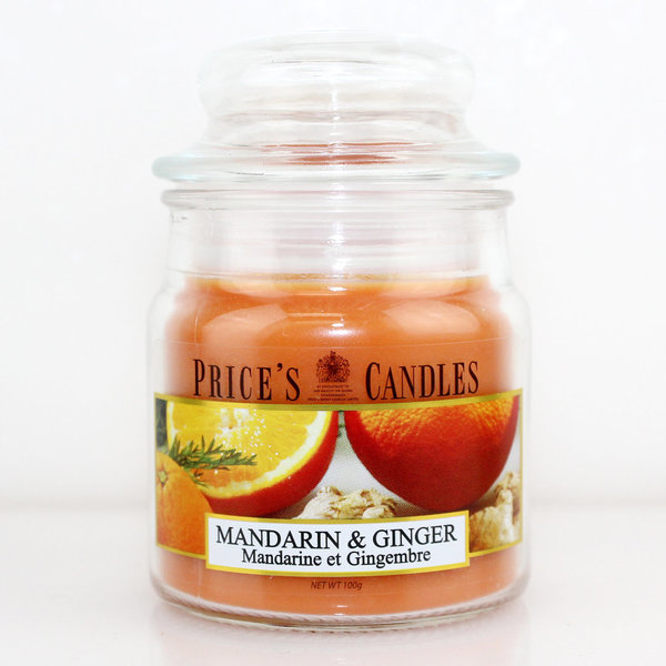 Price`s Patent Candles Limited Small Jar 100 g Mandarin & Ginger