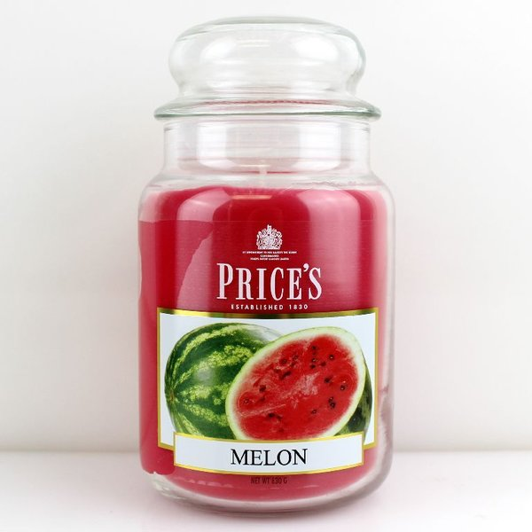 Price`s Patent Candles Limited Large Jar 630 g Melon