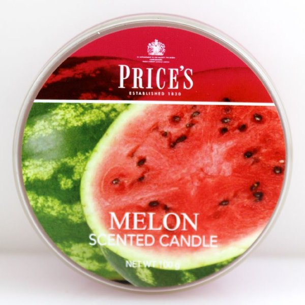 Price`s Patent Candles Limited Tin 100 g Melon