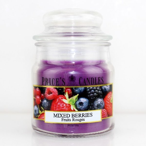 Price`s Patent Candles Limited Small Jar 100 g Mixed Berries
