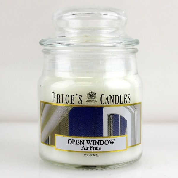 Price`s Patent Candles Limited Small Jar 100 g Open Window
