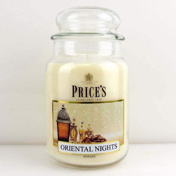 Price`s Patent Candles Limited Large Jar 630 g Oriental Nights