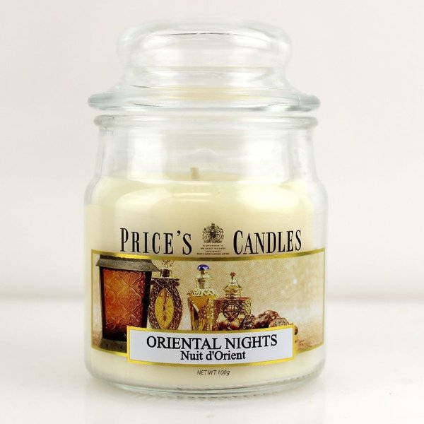 Price`s Patent Candles Limited Small Jar 100 g Oriental Nights