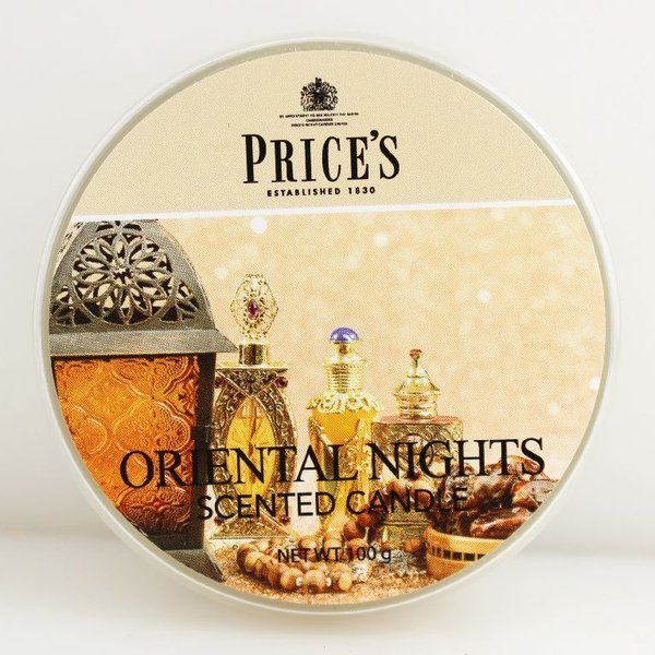 Price`s Patent Candles Limited Tin 100 g Oriental Nights