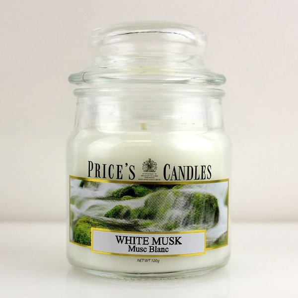 Price`s Patent Candles Limited Small Jar 100 g White Musk