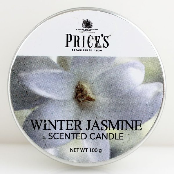 Price`s Patent Candles Limited Tin 100 g Winter Jasmine