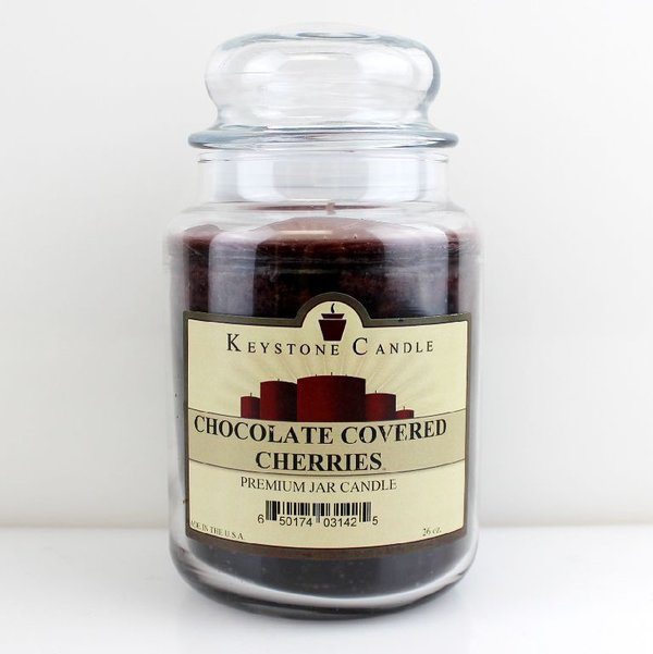 Keystone Candle Company Jar 655 g Chocolate Covered Cherries