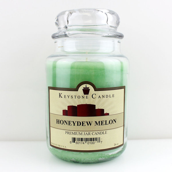 Keystone Candle Company Jar 655 g Honeydew Melon