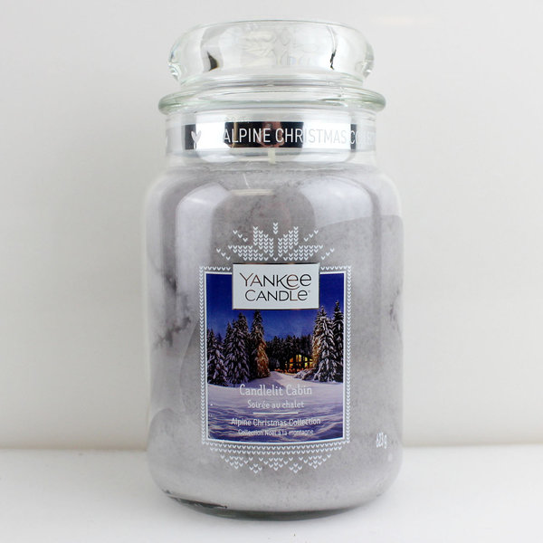 Yankee Candle Classic 623 g Jar Candlelit Cabin