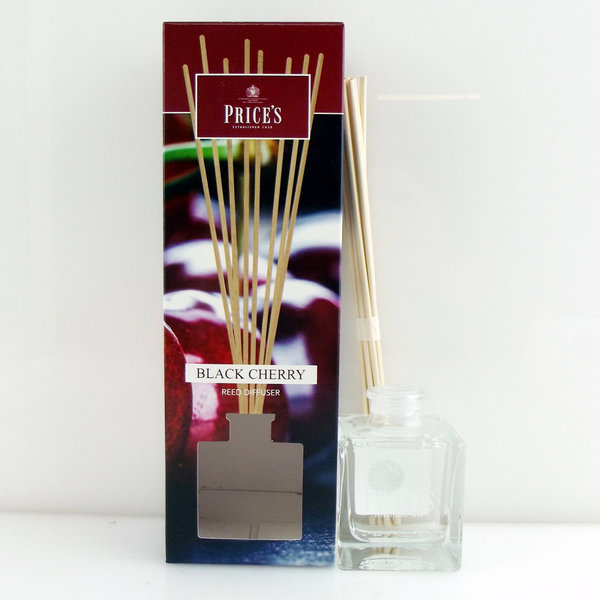 Price`s Patent Candles Limited Reed Diffuser Black Cherry