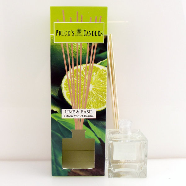 Price`s Patent Candles Limited Reed Diffuser Lime & Basil