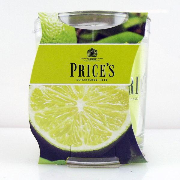 Price`s Patent Candles Limited Jar 170 g Lime & Basil