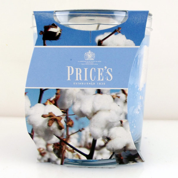 Price`s Patent Candles Limited Jar 170 g Cotton Powder